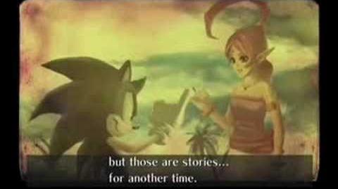 Sonic And The Secret Rings Final Cutscene