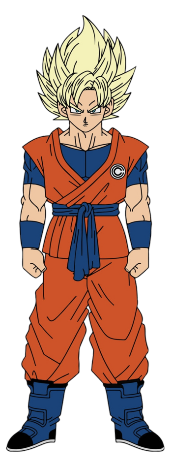 SSJ CC Goku