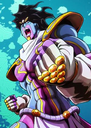 Star Platinum The World (Anime)