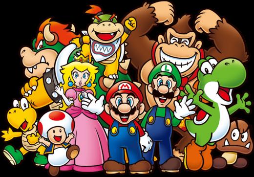 Mario group 2D