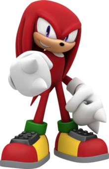 Knuckles the echidna by mintenndo-d83niyh-0