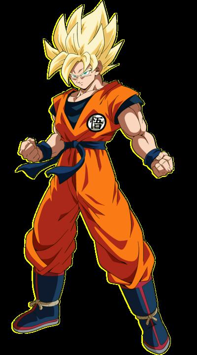 Goku DBZ SS1