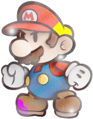 Shiny Paper Mario - Custom Model