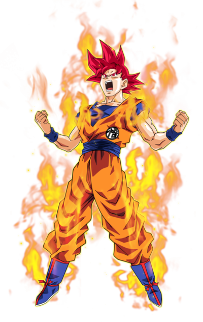 Goku super saiyan god 2 by bardocksonic-d9ac4zb