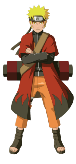 Naruto with coat