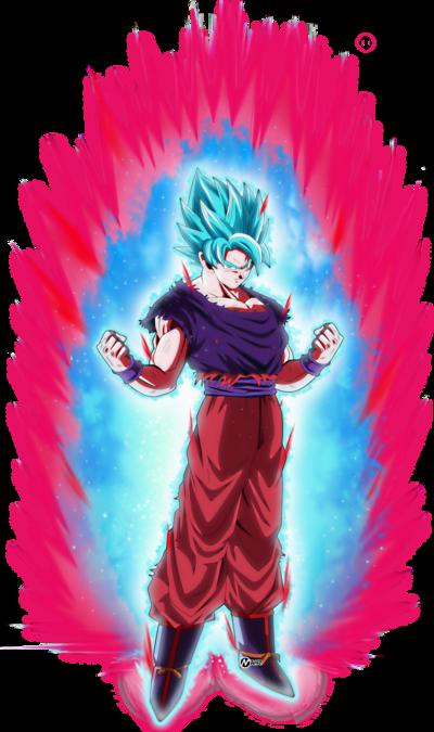 Goku ssj blue kaioken by naironkr-dc2wntc2
