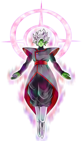 Fusion Zamasu Barrier of Light