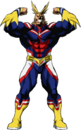 All Might (Canon, Death Battle)/Unbacked0