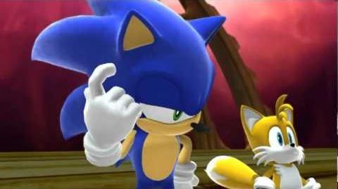Sonic Generations Cutscene 'Time Eater Reveal' Pre-Final Boss *MAJOR SPOILERS*