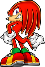 Knuckles the Echidna (Canon, Game Character)/Maverick Zero X
