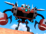 Burnbot (Canon, Sonic Boom)/Maverick Zero X