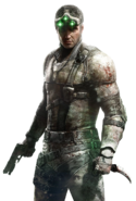 Sam Fisher (Canon, Death Battle)/Unbacked0