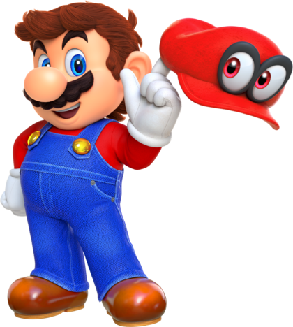SMO Art - Mario and Cappy