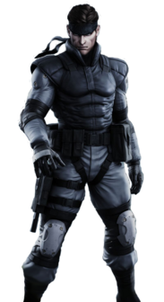Solid Snake (Canon, Death Battle)/Unbacked0