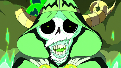S6e26 Lich closeup