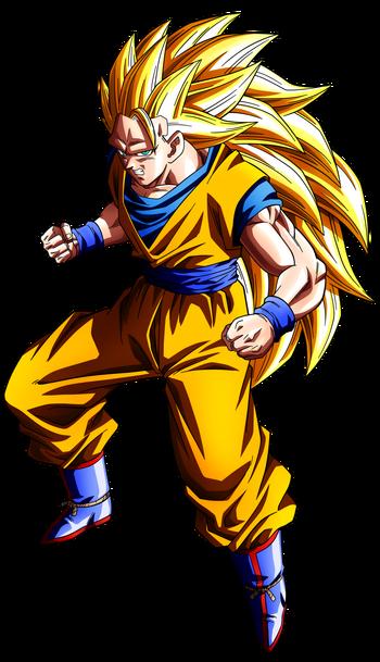 Super Saiyan 3 Goku