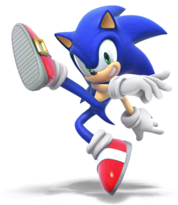 SSBU Sonic Render HQ