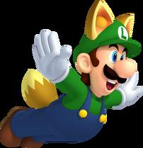 Raccoon Luigi - New Super Mario Bros 2