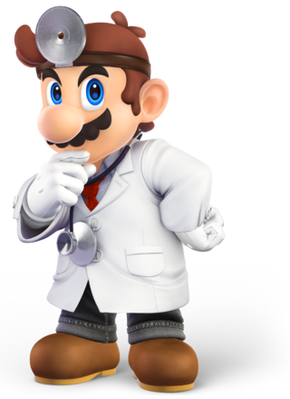 SSBU Doctor Mario Render HQ