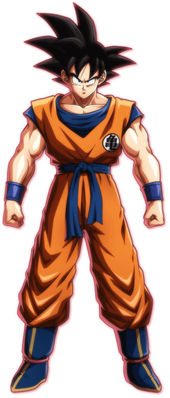 Base Goku (Saiyan Saga)