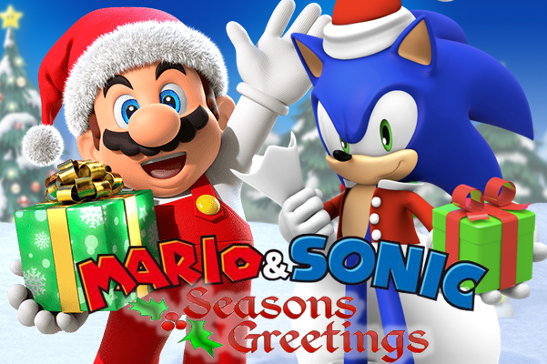 filemario and sonic christmaspng - Sonic Hours Christmas Day