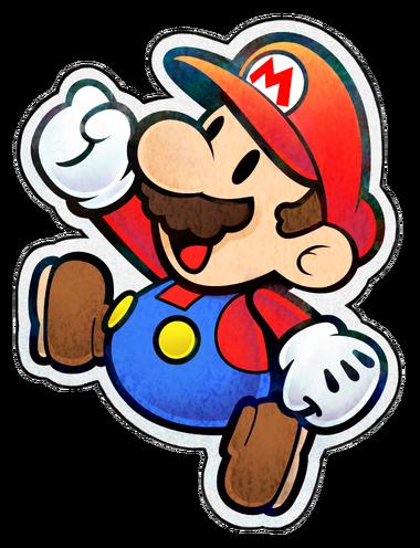 Paper Mario from Paper Jam