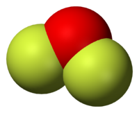 Oxygen Difluoride Molecule