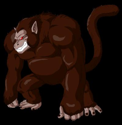Oozaru Goku