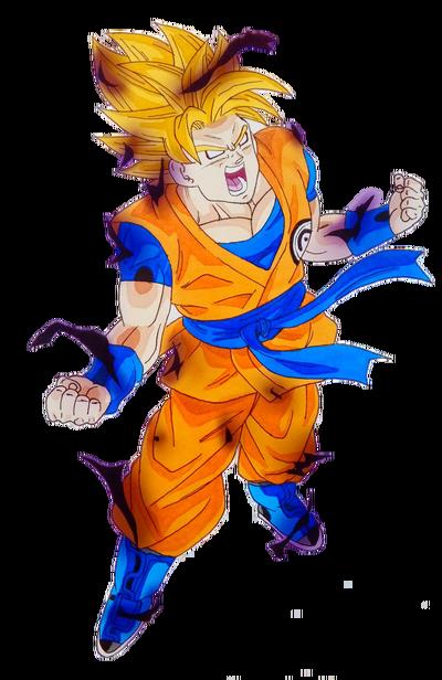 Berserk SSJ CC Goku