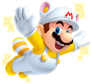 White Raccoon Mario