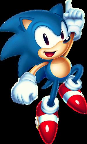 Mania Sonic Artwork