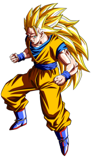 Super Saiya-jin 3 Son Goku