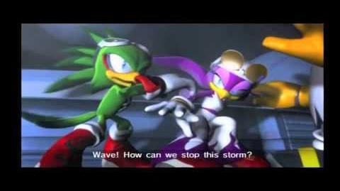 Sonic Riders Zero Gravity Cutscenes (Babylon Part 2 2)