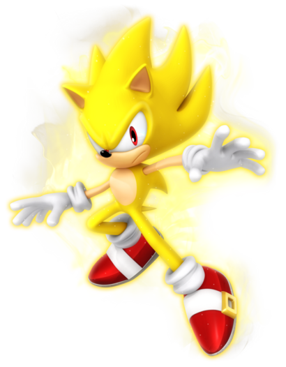 Super Sonic Modern Render