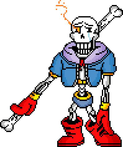 Disbelief Papyrus (Canon)/Sans2345 | Character Stats and