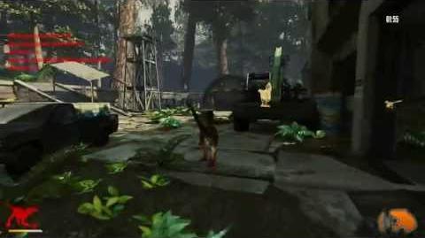 Primal Carnage - Dinosaurs - Novaraptor Gameplay