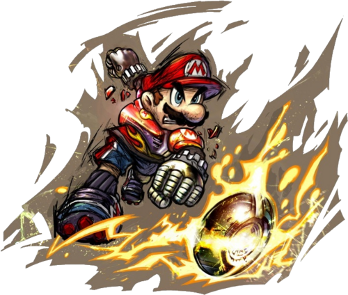 Mario Strikers Charged Artwork