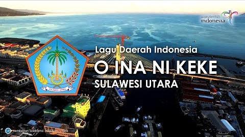 O Ina Ni Keke - Lagu Daerah Sulawesi Utara (Karoke, Lirik dan Terjemahan)