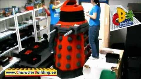 Character Building Life Size Dalek Construction