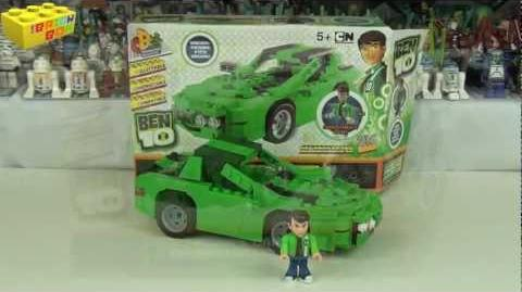 Character Building Ben 10 Kevin's Car, Lego Compatible!