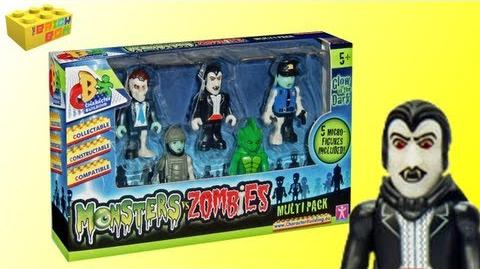 Character Building Monsters VS Zombies Multipack Review