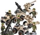 Army Mortar & Artillery Set