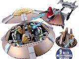 Dalek Spaceship Set (exclusive)