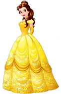 Beauty and strong Belle