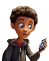 Alex emoji movie transparent