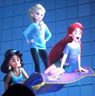 Wreak it ralph 2 disney princess save the day by blueappleheart89 dcszmkn-fullview
