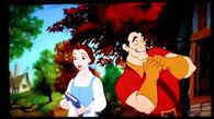 Beauty and the Beast Belle and Gaston street scene