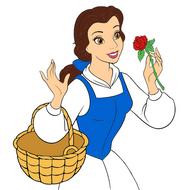 Disney princess belle by princess wilda-d5oy703
