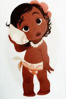 Baby moana concept art WDAS 2016