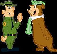 Yogi-and-Ranger-Smith